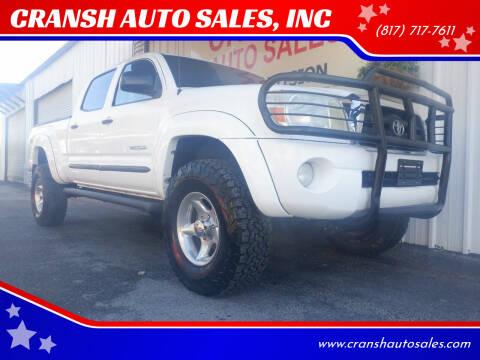 2005 Toyota Tacoma for sale at CRANSH AUTO SALES, INC in Arlington TX