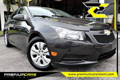 2014 Chevrolet Cruze for sale at Premium Cars of Miami in Miami FL