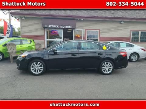 2014 Toyota Avalon for sale at Shattuck Motors - NEKtrucks.com in Newport VT