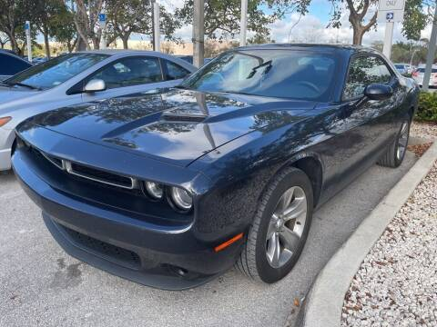 2018 Dodge Challenger for sale at DORAL HYUNDAI in Doral FL