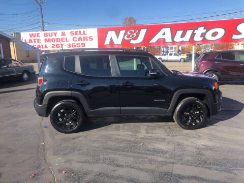 2018 Jeep Renegade for sale at N & J Auto Sales in Warsaw IN