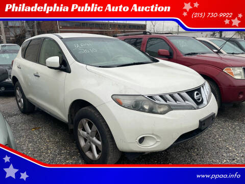 2010 Nissan Murano for sale at Philadelphia Public Auto Auction in Philadelphia PA