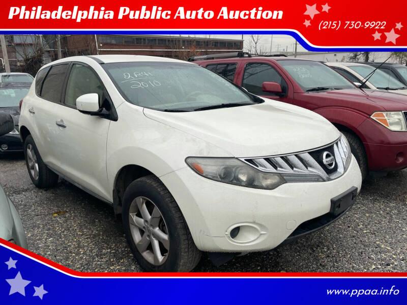 2010 Nissan Murano for sale at Philadelphia Public Auto Auction in Philadelphia PA