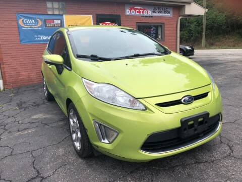 2013 Ford Fiesta for sale at Doctor Auto in Cecil PA