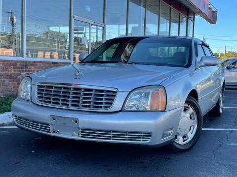 2000 Cadillac DeVille for sale at MAGIC AUTO SALES in Little Ferry NJ