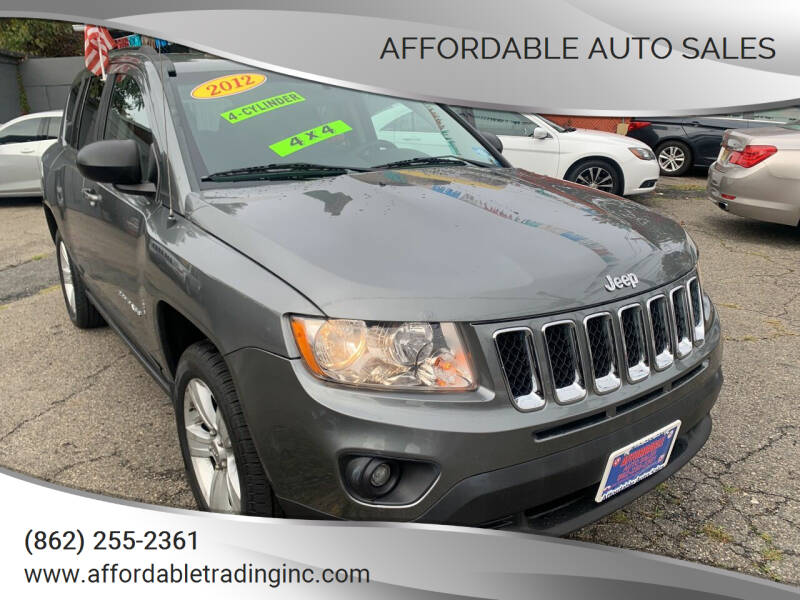 2012 Jeep Compass for sale at Affordable Auto Sales in Irvington NJ
