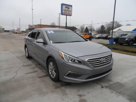 2015 Hyundai Sonata for sale at America Auto Inc in South Sioux City NE