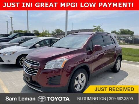 2016 Chevrolet Trax for sale at Sam Leman Toyota Bloomington in Bloomington IL
