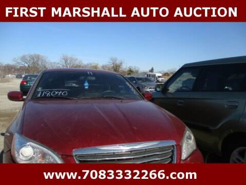 2014 Chrysler 200 for sale at First Marshall Auto Auction in Harvey IL