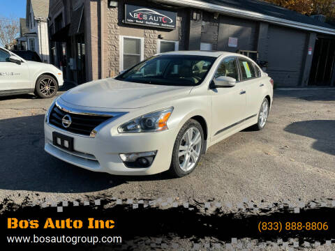 2015 Nissan Altima for sale at Bos Auto Inc in Quincy MA