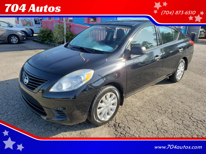 2014 Nissan Versa for sale at 704 Autos in Statesville NC