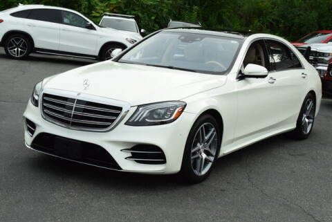2018 Mercedes-Benz S-Class for sale at Automall Collection in Peabody MA