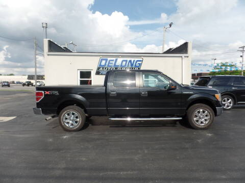 2013 Ford F-150 for sale at DeLong Auto Group in Tipton IN