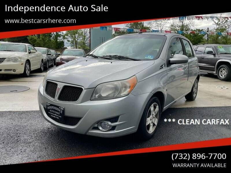 2009 Pontiac G3 for sale at Independence Auto Sale in Bordentown NJ