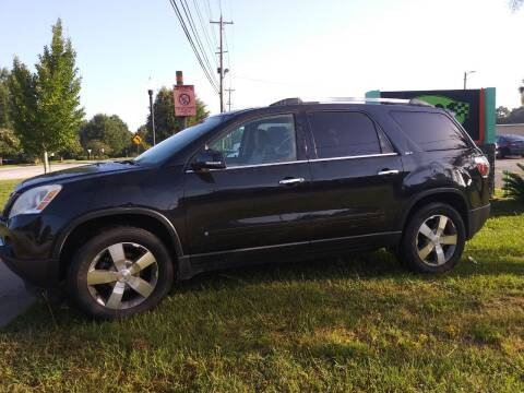 2010 GMC Acadia for sale at Auto 1 Madison in Madison GA