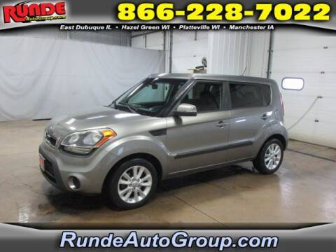 2013 Kia Soul for sale at Runde Chevrolet in East Dubuque IL