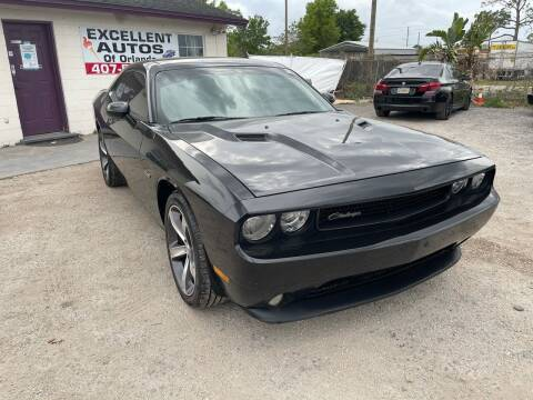 2014 Dodge Challenger for sale at Excellent Autos of Orlando in Orlando FL