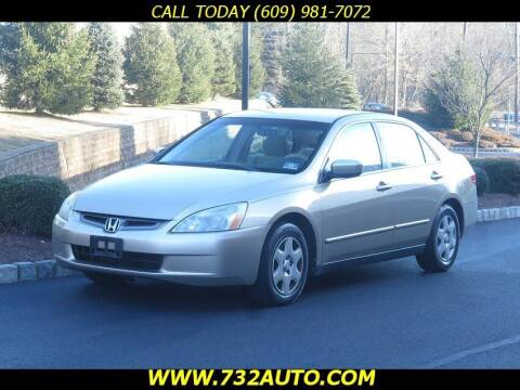 2005 Honda Accord for sale at Absolute Auto Solutions in Hamilton NJ