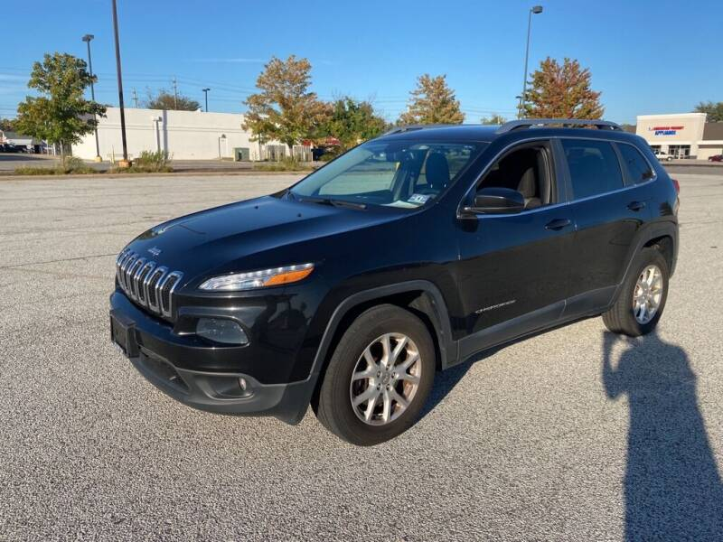 2014 Jeep Cherokee for sale at TKP Auto Sales in Eastlake OH
