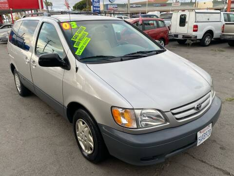 2003 Toyota Sienna for sale at North County Auto in Oceanside CA