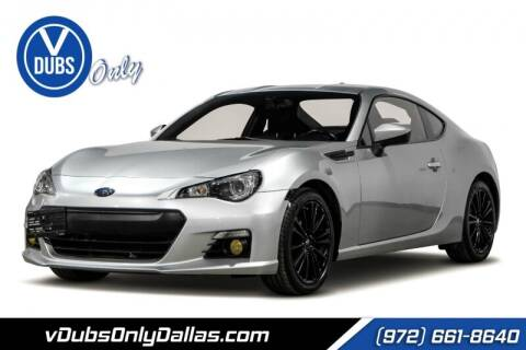 2015 Subaru BRZ for sale at VDUBS ONLY in Dallas TX
