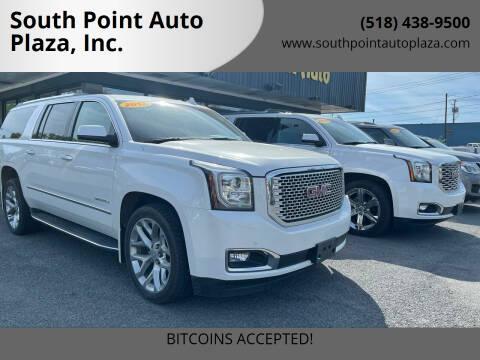 2017 GMC Yukon XL for sale at South Point Auto Plaza, Inc. in Albany NY