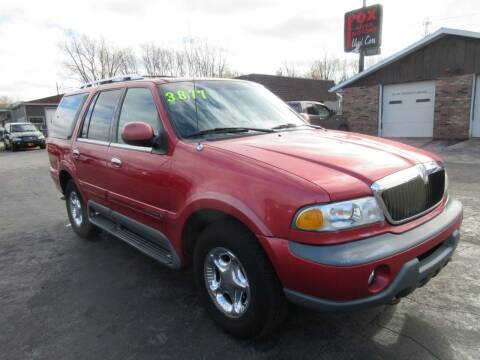 1999 Lincoln Navigator for sale at Fox River Motors, Inc in Green Bay WI