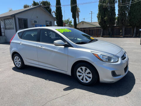 2015 Hyundai Accent for sale at Blue Diamond Auto Sales in Ceres CA