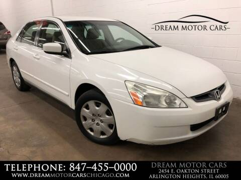 2003 Honda Accord for sale at Dream Motor Cars in Arlington Heights IL