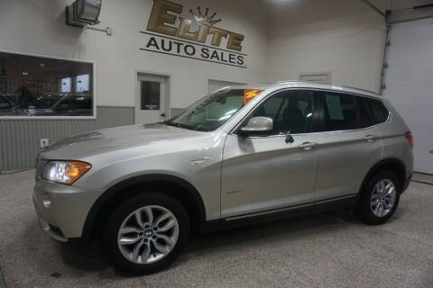 2014 BMW X3 for sale at Elite Auto Sales in Ammon ID