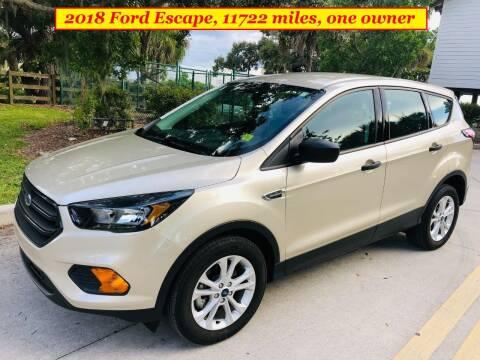 2018 Ford Escape for sale at SIMON & DAVID AUTO SALE in Port Charlotte FL