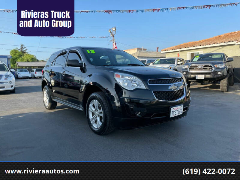 2013 Chevrolet Equinox for sale at Rivieras Truck and Auto Group in Chula Vista CA