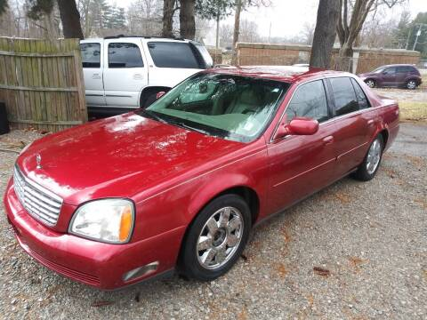 2005 Cadillac DeVille for sale at ELITE AUTO SOLUTIONS in Belleville IL