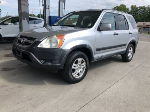 2002 Honda CR-V for sale at JE Auto Sales LLC in Indianapolis IN