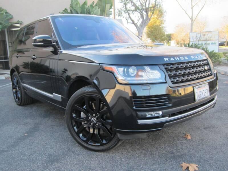 2016 Land Rover Range Rover for sale at ORANGE COUNTY AUTO WHOLESALE in Irvine CA
