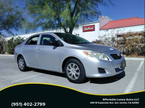 2009 Toyota Corolla for sale at Affordable Luxury Autos LLC in San Jacinto CA