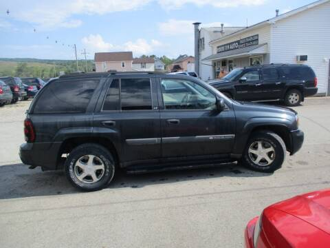 2004 Chevrolet TrailBlazer for sale at ROUTE 119 AUTO SALES & SVC in Homer City PA
