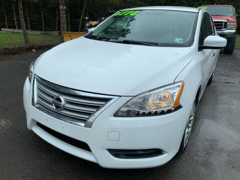 2015 Nissan Sentra for sale at SMS Motorsports LLC in Cortland NY