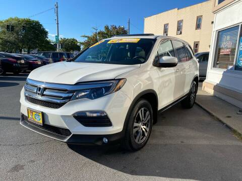 2016 Honda Pilot for sale at ADAM AUTO AGENCY in Rensselaer NY