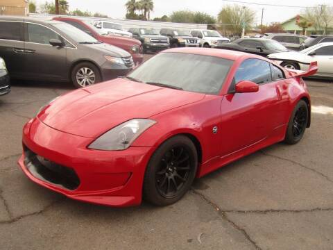 2005 Nissan 350Z for sale at More Info Skyline Auto Sales in Phoenix AZ