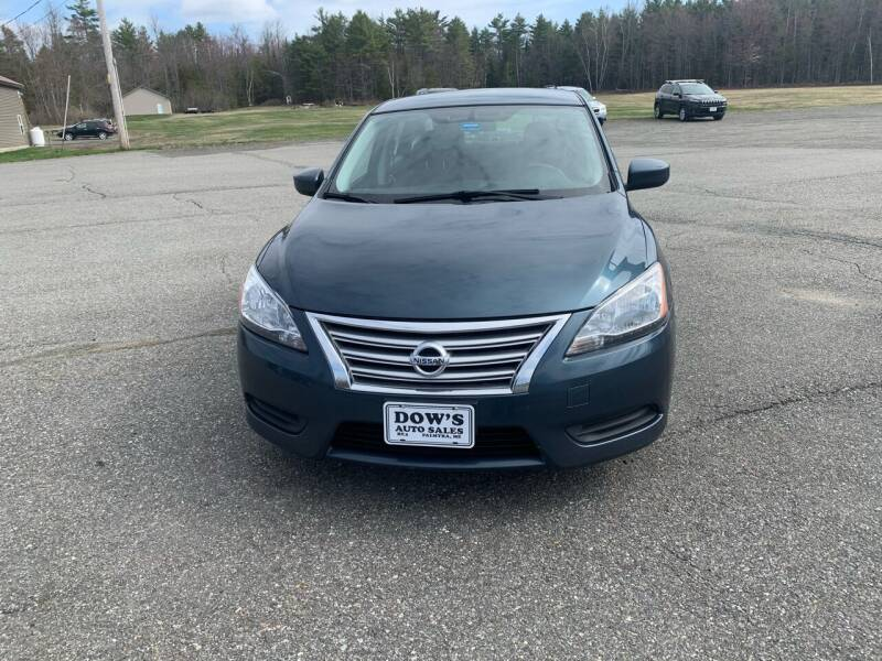 2015 Nissan Sentra for sale at DOW'S AUTO SALES in Palmyra ME