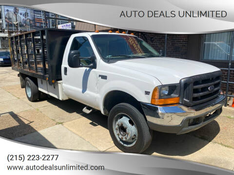 1999 Ford F-450 Super Duty for sale at AUTO DEALS UNLIMITED in Philadelphia PA