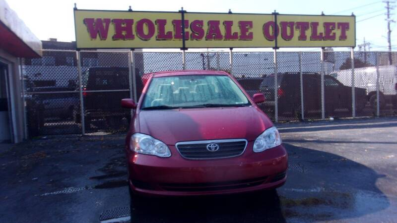 2006 Toyota Corolla for sale at LONG BROTHERS CAR COMPANY in Cleveland OH