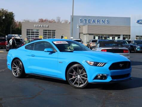 2017 Ford Mustang for sale at Stearns Ford in Burlington NC