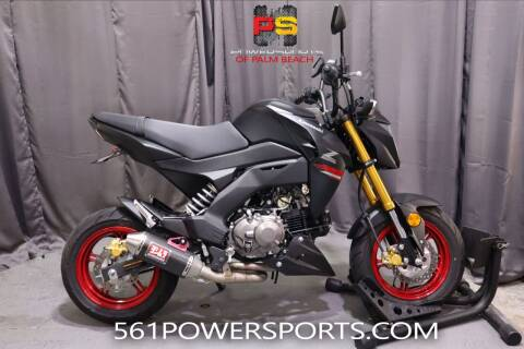 2021 Kawasaki Z125 Pro for sale at Powersports of Palm Beach in Hollywood FL