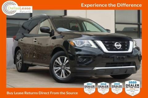 2017 Nissan Pathfinder for sale at Dallas Auto Finance in Dallas TX