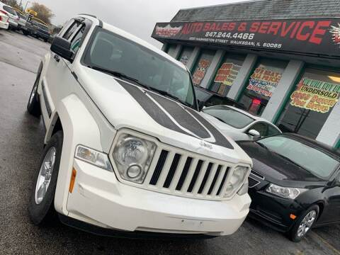 2010 Jeep Liberty for sale at Washington Auto Group in Waukegan IL