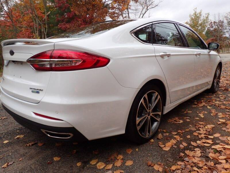 2019 Ford Fusion AWD Titanium 4dr Sedan - Storrs CT