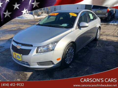 2012 Chevrolet Cruze for sale at Carson's Cars in Milwaukee WI