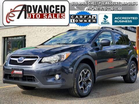 2014 Subaru XV Crosstrek for sale at Advanced Auto Sales in Tewksbury MA
